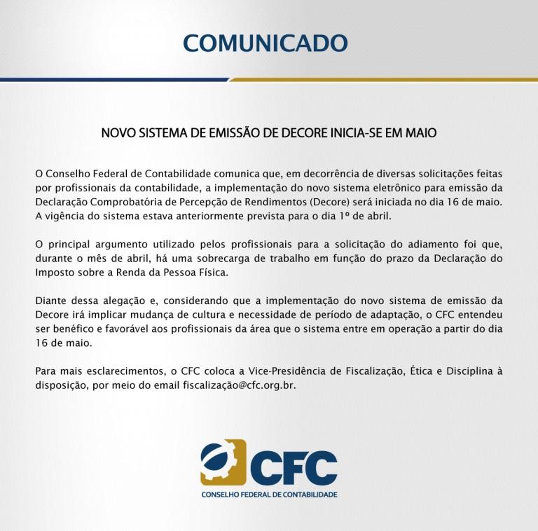 DECORE-CFC